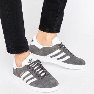 adidas Originals Gazelle Sneakers In Gray
